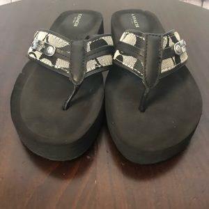 Coach Shoes - Coach Jodee Flip Flop